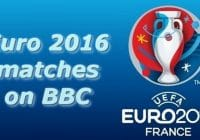 euro 2016 matches on bbc