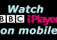 watch bbc iplayer on mobile