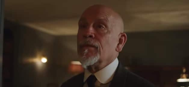 John Malkovich as Hercule Poirot on BBC